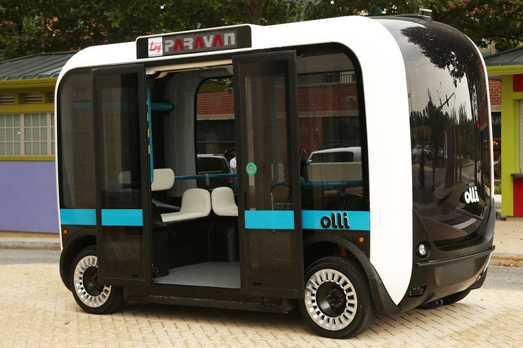 Autonomer Bus Olli