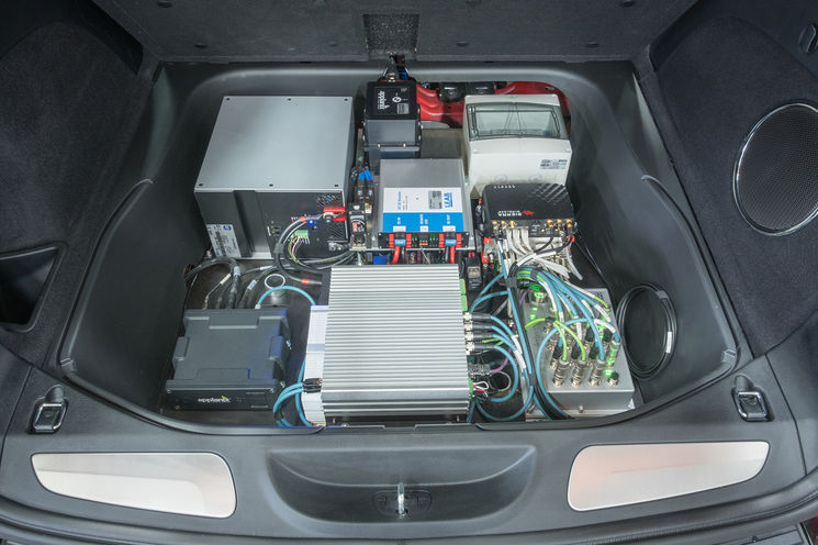 We Have Integrated Our Digital Steer By Wire And Drive System E In The Vehicle Also Installed Sensors